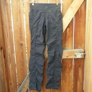 Lululemon dance studio casual gray pants sz 4